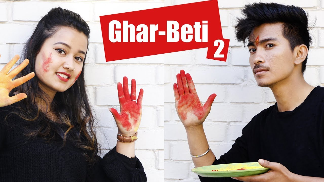 Photo of GharBeti 2 | AAjkal Ko Love Ep – 75 | Jibesh | Riyasha | March 2019 | Colleges Nepal