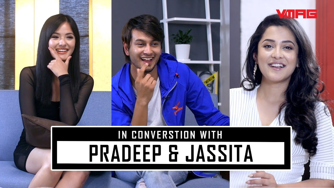 Photo of Pradeep Khadka uses his best pick up lines on both Jassita and Oshin.