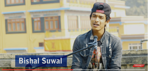 "Photo of Bishal Suwal Cover Song ""Saili"""