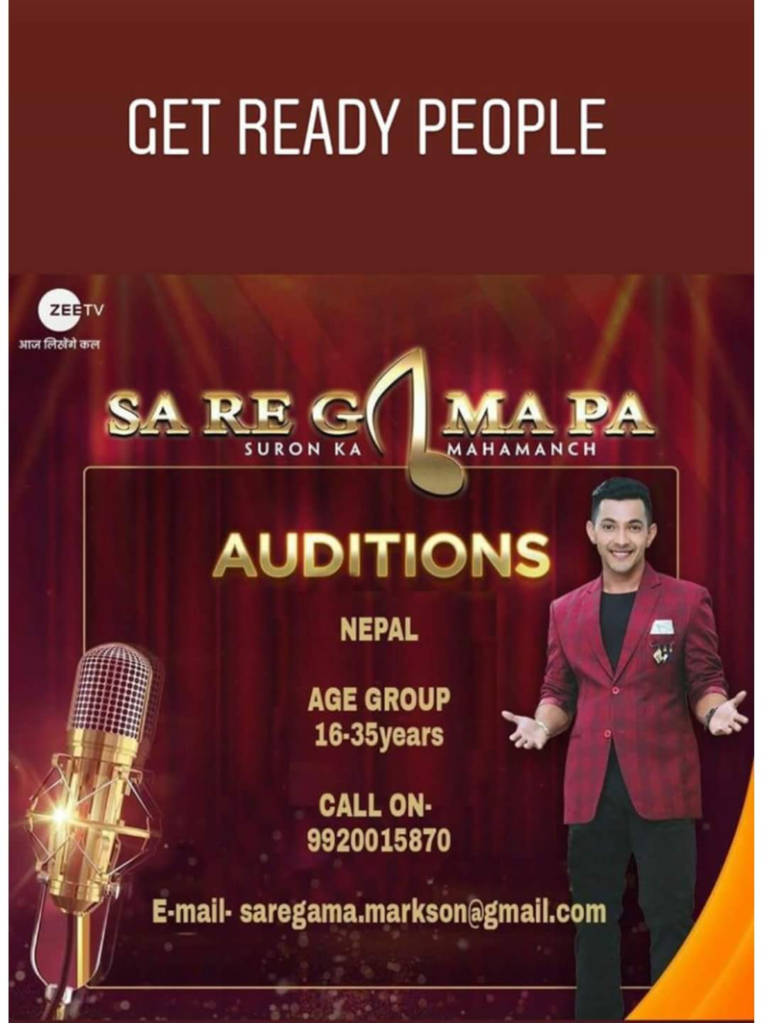 Photo of Sa Re Ga Ma Pa Happening in Nepal