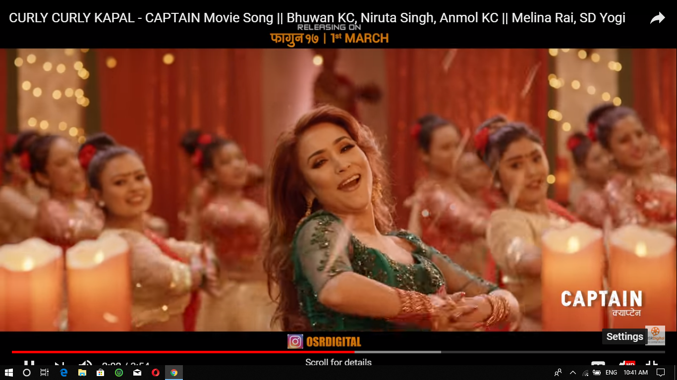 Photo of CURLY CURLY KAPAL – CAPTAIN Movie Song || Bhuwan KC, Niruta Singh, Anmol KC || Melina Rai, SD Yogi