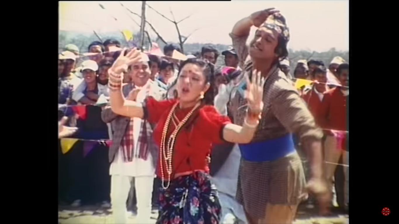 Photo of Rato Tika Nidharma, Allare , Rajesh Hamal, Karishma Manandhar & Sambhujit