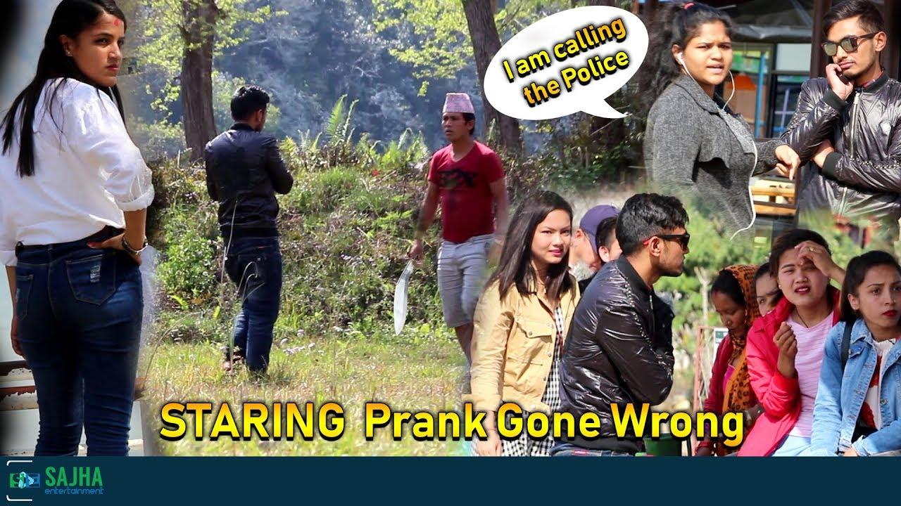 Photo of STARING Prank Gone Wrong -Nepali Prank | Pokhara l