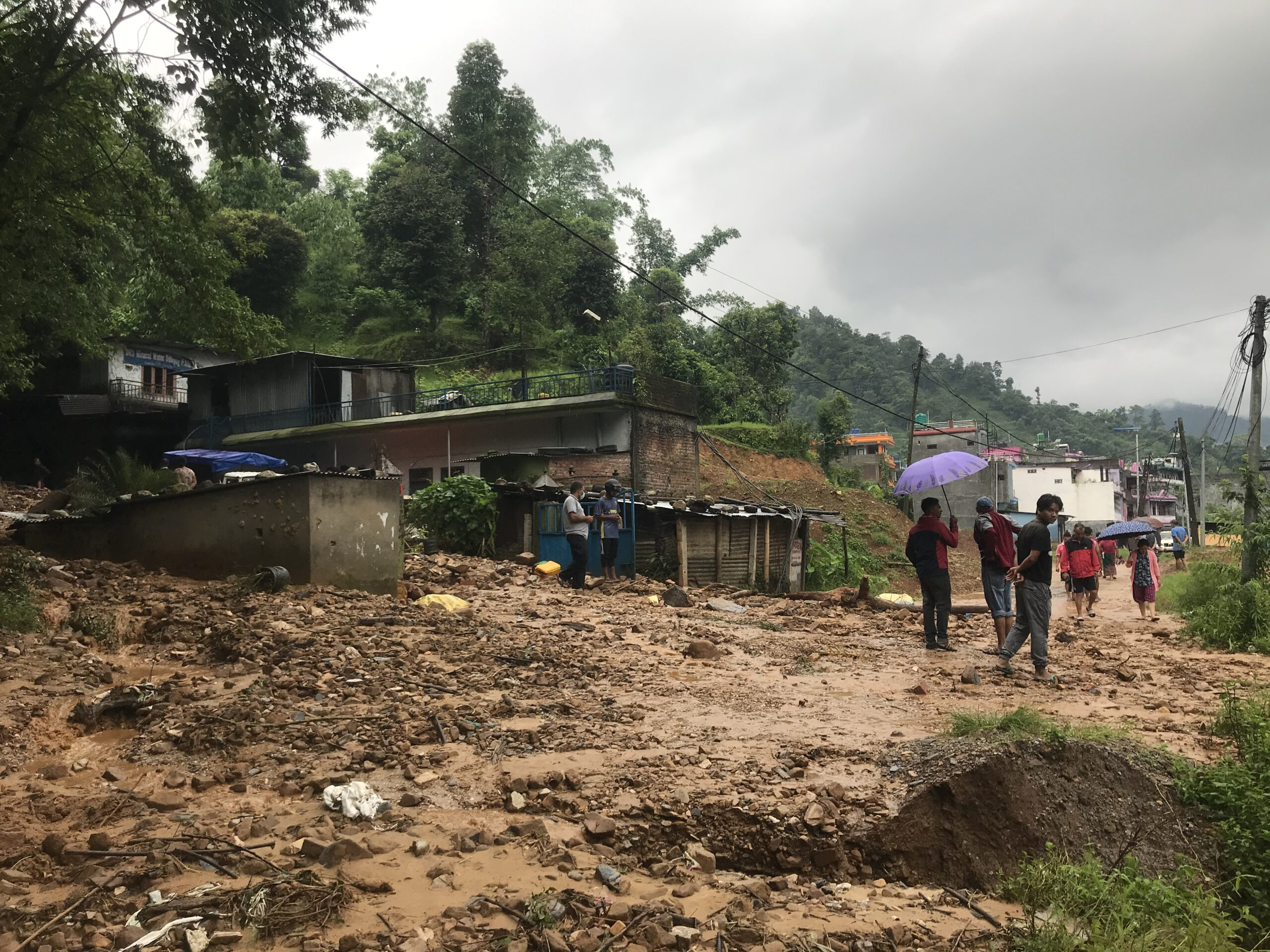 Photo of Heavy Rainfall in Syangja (Photo & Video )